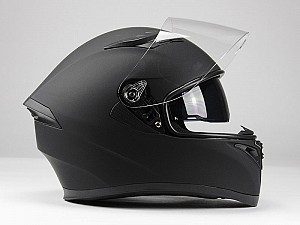 BNO F600 MATT BLACK SOLVISIR INTEGRAL MC HELM