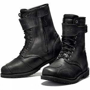 Black Heritage Leather WP 5269 mc stövlar