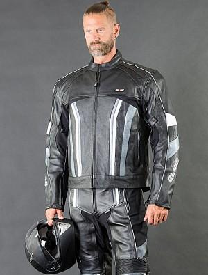 Force V2 New Leather MOTORCYCLE JACKET 009874
