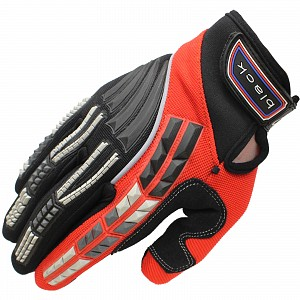Black Claw Motocross Gloves RED 5234-0206 Motocross GLOVES