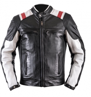 ATA ROADSTER CUSTOM BLACK leather mc jacket 029