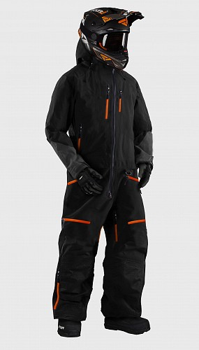 ATA SNOWPEAK ORANGE OVERALL ATV/SNOWMOBILE CE ALLVÄDERSSTÄLL  SP2019