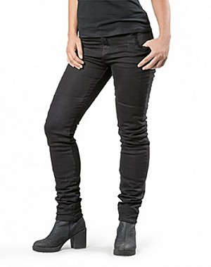 LADY RANGER BLACK KEVLAR denim jeans motorcycle trouser
