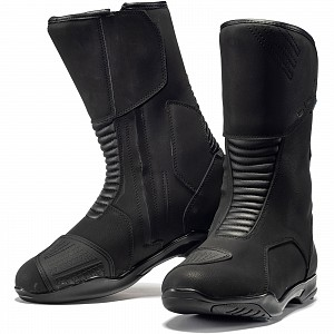 Black Travel WP Touring 5274 Motorcycle Boots