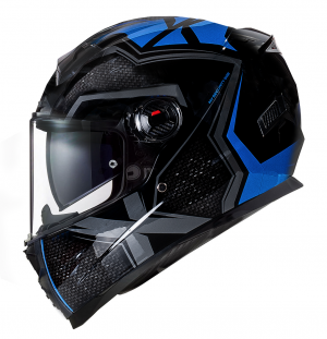 BNO INTEGRAL-2 X BLUE GLOSS MC HELMET