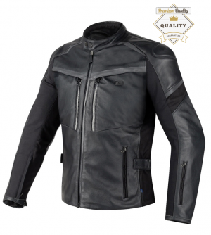 PREMIUM SERIES ATA Blacktide mc 6430 leather jacket