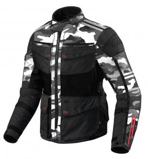 ATA ROADWAY COMBO 365 TOURING CAMOWHITE/BLACK Textile Motorcycle Jacket C-009900