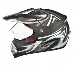 RX962 QUAD ENDURO BLACK V cross helmet