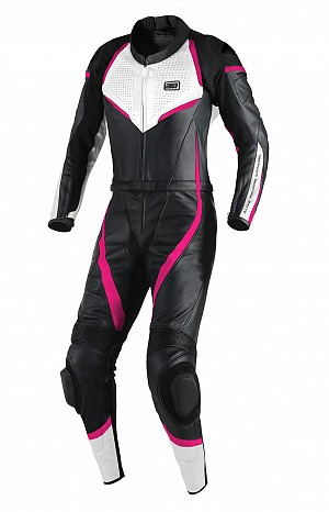 ATA Pink Overthrow 2-delat leathersuit
