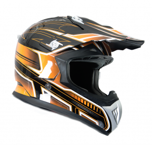 FS 603 Orange PW Cross helmet