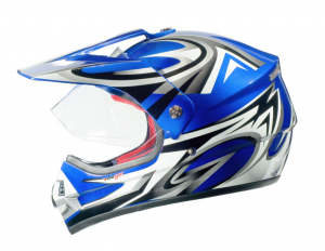 RX962 QUAD ENDURO BLUE V cross helmet