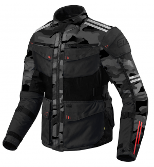 ATA ROADWAY COMBO 365 TOURING DARKCAMO/BLACK Textile Motorcycle Jacket 00910