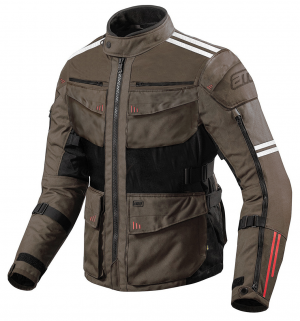 ATA ROADWAY 365 TOURING SANDBROWN TEXTILE MOTORCYCLE JACKET B-99