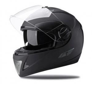 H520 AERO BLACK MATT SOLVISIR motorcycle helmet