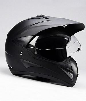 BNO CROSS 1 MATT BLACK cross helmet