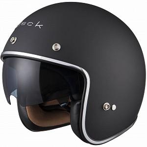 BLACK CLASSIC MATT BLACK 5185 Jet mc helmet