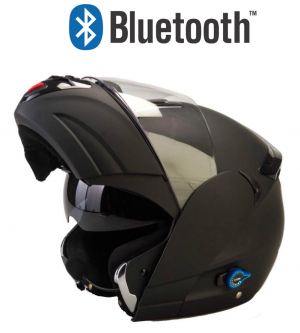 V270 Bluetooth Matt mc helmet