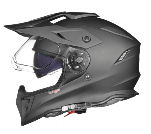 CROSS RF967 BLACK MATT DUAL SOLVISIR cross helmet