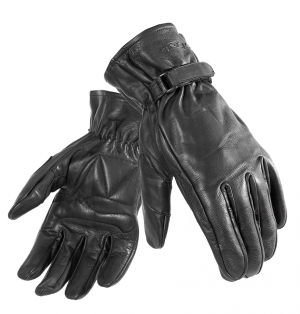 BLACK Shoulder Leather Motorcycle 51020106 MC GLOVES