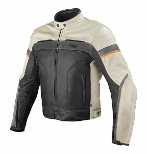 ATA LIBERTY MOTORCYCLE LEATHER JACKET 1214