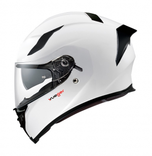 FEATHERLIGHT RT-826 GLOSS WHITE SOLVISIR INTEGRAL MC HELMET
