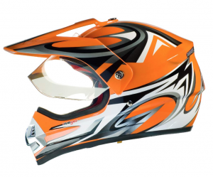 RX962 QUAD ENDURO ORANGE V cross helmet