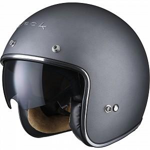 BLACK CLASSIC MATT TITANIUM 51854003 Jet mc helmet