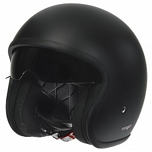 JET RC590 BLACK MATT SOLVISIR JET MC HELMET