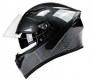 BNO F600 CARBON COLOR FIBER SOLVISAL INTEGRAL MC HELMET