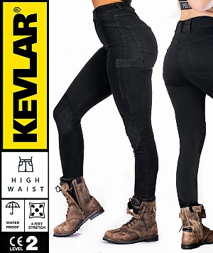 LADY KEVLAR CARGO WP  MC LEGGINGS
