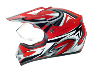 RX962 QUAD ENDURO RED V cross helmet