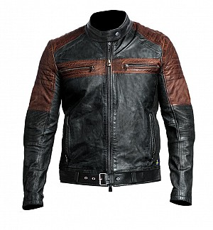 ATA GHOST HD DUAL LEATHER JACKET