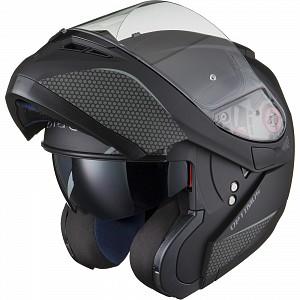 BLACK Optimus SV Max Vision Flip Front Solvisir Matt Black 123993003