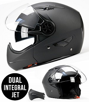 BNO 755 DUAL JET INTEGRAL mc helmet