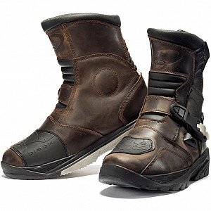 Black Rogue Adventure Mid 5265 Touring MC boots