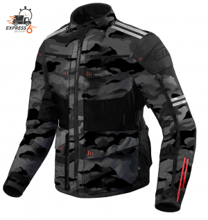 XPR ATA ROADWAY 365 TOURING DARKCAMO ALLVÄDER MC JACKET 300001